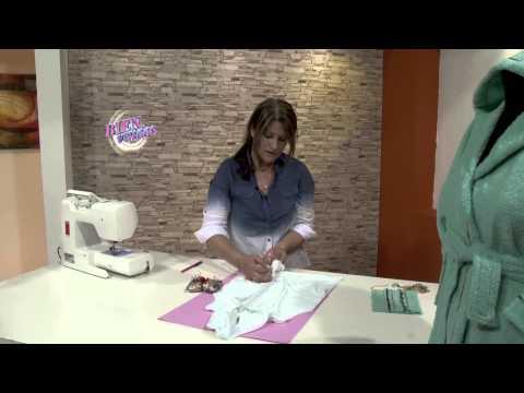 Liliana Villordo - Bienvenidas TV en HD - Enseña a hacer una Bata con Capucha para Niños
