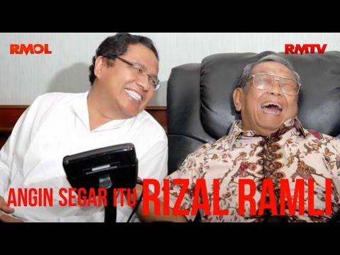Angin Segar itu Rizal Ramli