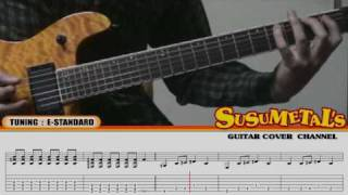 """How To Play """"The Hell Song"""" (intro & solo) (with TAB) Sum41"""
