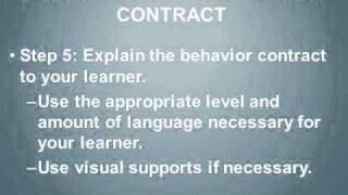 How To Use A Behavior Contract in 15-Minutes.wmv