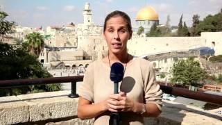 Tensa calma en Jerusalén tras ataques terroristas palestinos (8/10/2015)