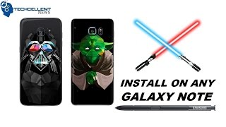 HOW TO CHANGE GALAXY NOTE S PEN SOUND TO STAR WARS LIGHTSABER! - dooclip.me