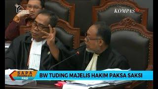 Bambang Widjojanto Tuding Majelis Hakim Paksa Saksi Tim Prabowo