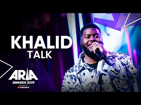 Khalid performs Talk at the 2019 ARIA Awards