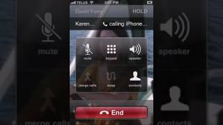 How To Do a 3 way Call on an iPhone