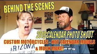 🏍💨BEHIND THE SCENES: Motorcycles & Models Calendar Shoot