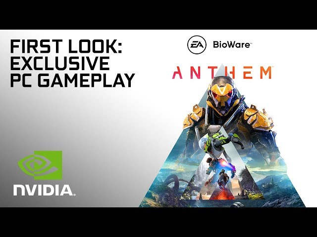 Anthem PC E3 2018 4K 60FPS Gameplay Was Using Dual Nvidia