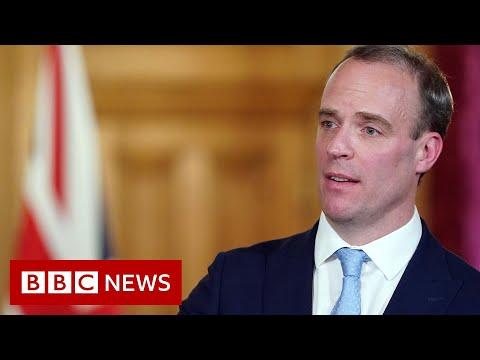 Coronavirus: Raab leads government's daily virus briefing - BBC News