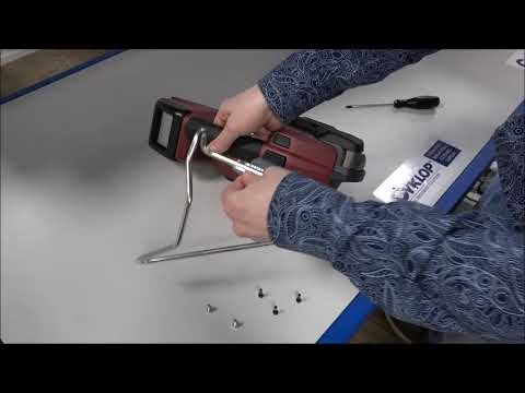 CMT 260 / CHT 450 / CLT 130: Ophangbeugel bevestigen