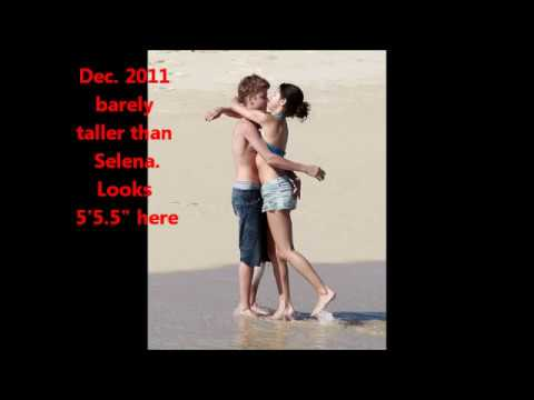Justin Bieber's Real Height is 5'6! Proof