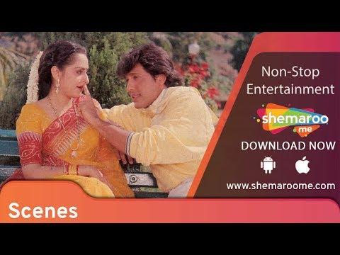 GOVINDA comedy scenes | Rishi Kapoor | Jaya Prada | Ghar Ghar Ki Kahani | Best Hindi Movie
