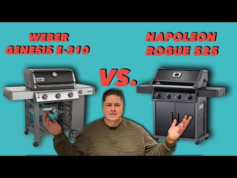 Napoleon Rogue gas grill vs Weber Genesis E-310 (Which one is better?)