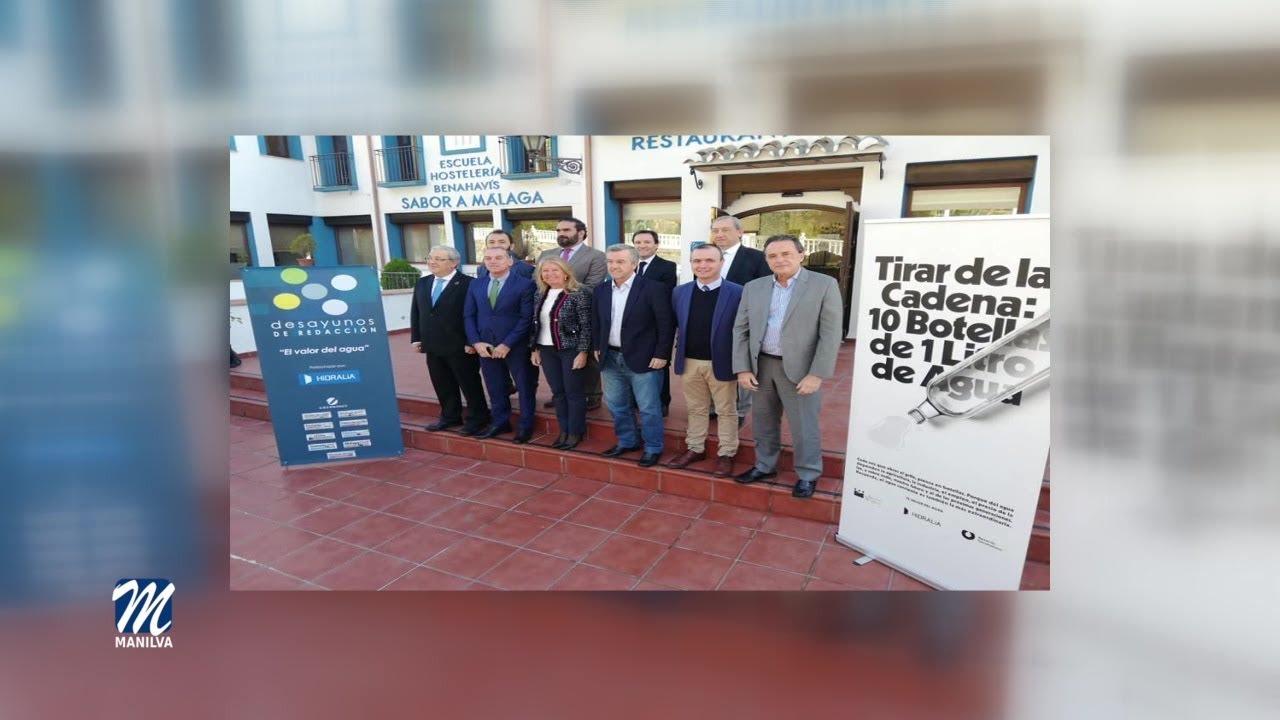 MANILVA PARTICIPA EN LA JORNADA «EL VALOR DEL AGUA»