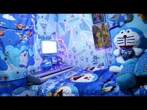 Desain Gambar Doraemon Untuk Kamar Ruang Belajar Siswa Kelas 4