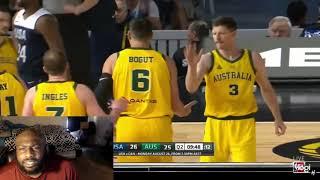 Team USA vs Australia Highlights reaction UPSET ALERT!!!!!