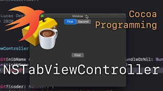 Cocoa Programming L81 - NSTabViewController
