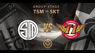 [14.05.2017] TSM vs SKT [MSI 2017][Group Stage]