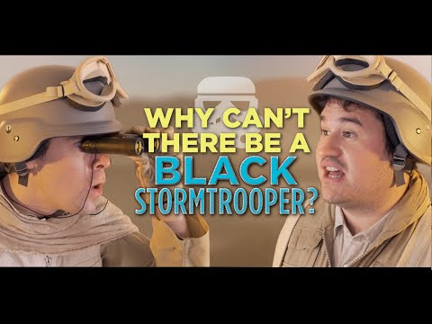 Why Can't There Be a Black Stormtrooper?