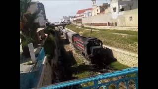 preview picture of video 'SNCFT GT 560 And GT 569 At Sousse Station'