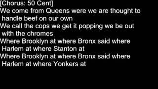 50 Cent - Queens, NY feat. Paris   Lyrics On Screen