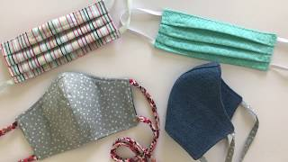 Tips & Tricks for Making Non-Surgical Protective Fabric Face Masks