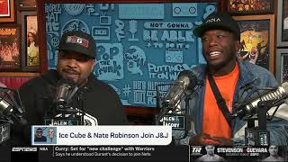 Ice Cube and Nate Robinson on The Jalen & Jacoby Show   Part 1