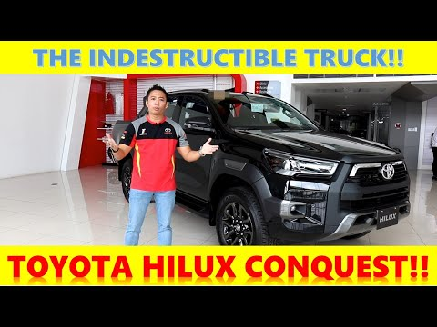 2021 TOYOTA HILUX CONQUEST 4X4 FULL REVIEW AND DRIVE IMPRESSIONS!!