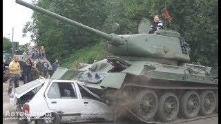 ТАНК ПОБЕДЫ | ЛЕГЕНДАРНЫЙ ТАНК Т-34 В ДЕЙСТВИИ