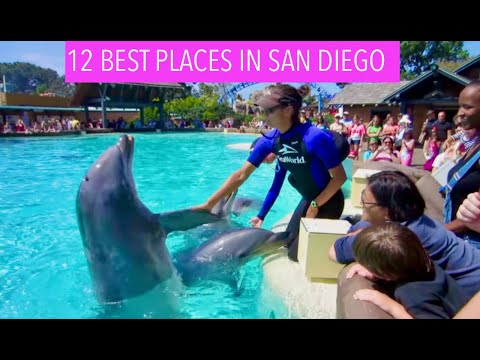 Video 12 Best Places to Visit in San Diego