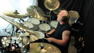 """Steve Lukather's song """"Brody's"""" drums by Larry Crowe"""