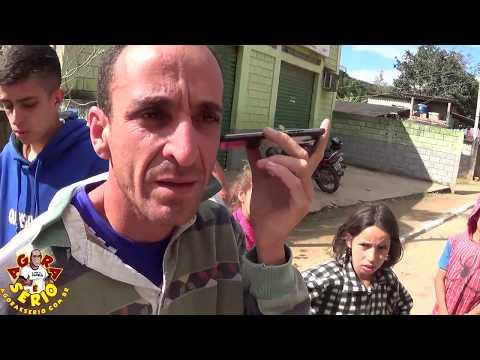 Vereador Laércio de Itatuba por celular com o Morador Marcelo de São Lourenço da Serra