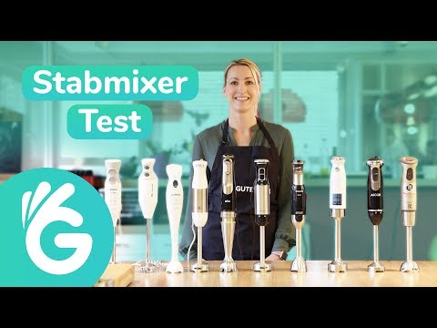Stabmixer im Test - 10 Modelle von Braun, Kitchenaid, Bosch und vielen mehr