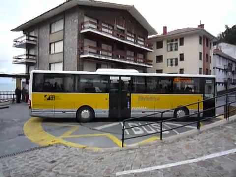 Si el bus no puede girar en la plaza…