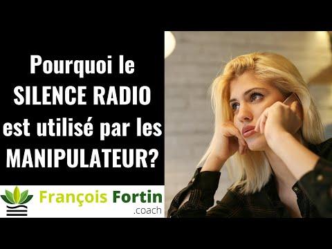 Pourquoi le silence radio est utilisé par les manipulateurs?