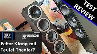 Teufel Theater 500 Hi-Fi Lautsprecher Test | Review | Soundcheck | Vergleich Teufel Ultima 40.