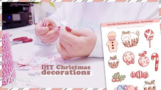 FREE Christmas Paper Decoration PDF