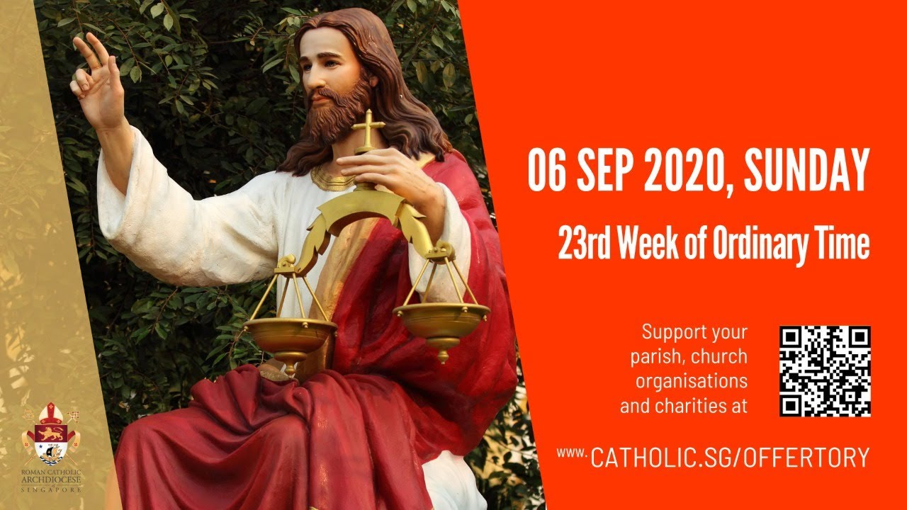 Catholic Sunday Mass 6th September 2020 Today Online – Livestream
