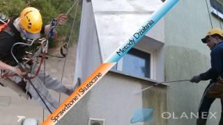 Mycie i malowanie elewacji OLANEX