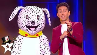 LES FRENCH TWINS Bring DALMATIONS To The Stage! | Magicians Got Talent