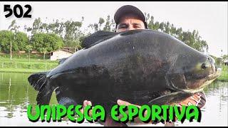 Dia difícil no Unipesca Esportiva - Fishingtur na TV 502