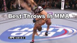 Best Throws and Slams in MMA