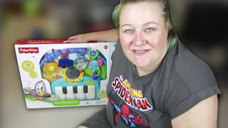 Fisher Price kick and play Piano Gym unboxing and assembly