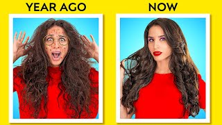 COOL HAIR HACKS FOR GORGEOUS LOOK || Awesome Hair Hacks And Tips By 123 GO! GOLD