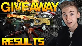CS:GO - 5000$ Giveaway Results!