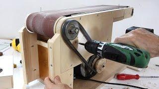 Belt Sander Build Continued