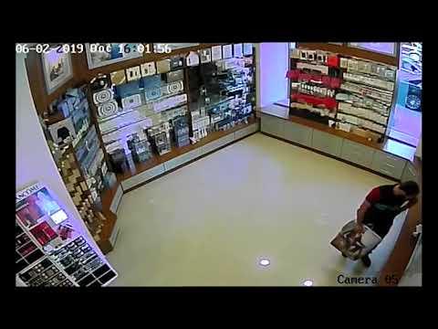 Գողություն օծանելիքի խանութ-սրահից (տեսանյութ)