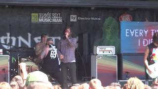 Every Time I Die - Thirst & Decayin' With The Boys & Ebolarama - Warped Tour - 07.06.14