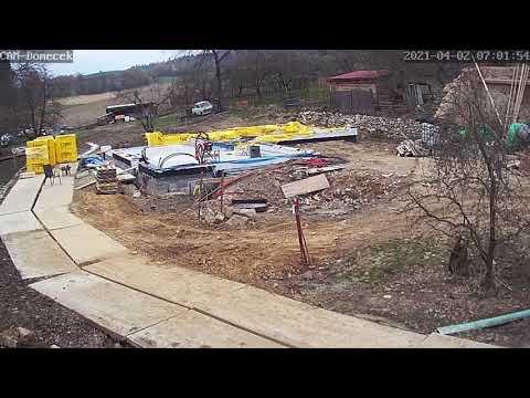 První stavební den