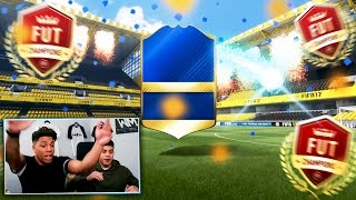 MASSIVE 100K LIGUE 1 TOTS PACKS! - FIFA 17 FUT CHAMPIONS REWARDS!