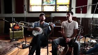 """Scott & Seth Avett sing, """"Blue Ridge Mountain Blues""""  (written in 1924 by Cliff Hess)"""